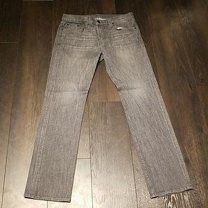Men's J Brand slim straight leg grey denim size 34